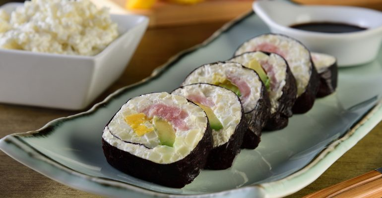 Sushi de Coliflor