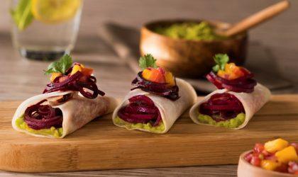 Tacos de Jícama con Betabel