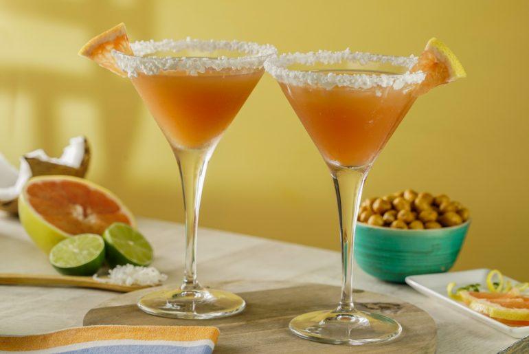 Margarita de toronja con Coco